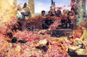 Las rosas de Heliogábalo (Alma-Tadema, 1888). Colección privada.
