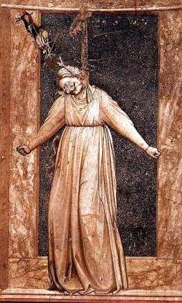 Siete pecados Desperation-Giotto-Capilla Scrovegni