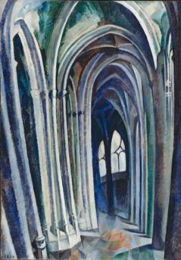 Robert_Delaunay,_Saint-Séverin_No._1,_1909