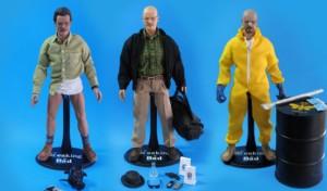 Muñecos de Breaking Bad retirados. Fuente: elperiodico.com