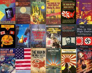 Diversas e imaginativas portadas de El hombre en el castillo. Fuente: blog.8r4d.com
