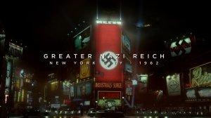Times Square en el Nueva York del Reich. Fuente: pijamasurf.com