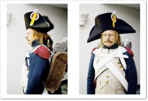Pruebas de vestuario del proyecto de Kubrick
