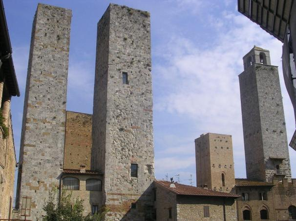 towers-in-san-gimignano