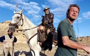 Terry Gilliam y Jean Rochefort. Fuente: vidaytiemposdeljuezroybean.com