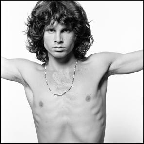 jim Morrison as christ