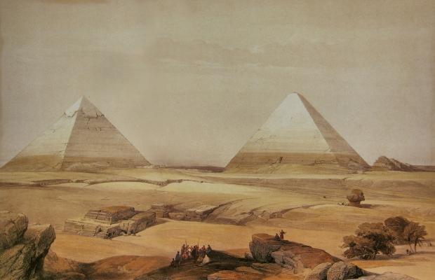 David-Roberts-Pyramids-Of-Geezeh