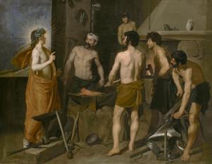 La Fragua de Vulcano. Fuente: museodelprado.es