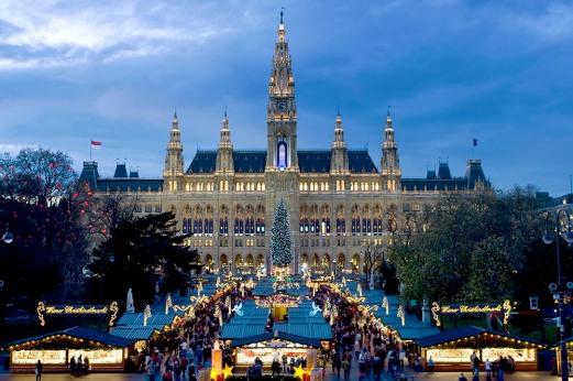 Viennese Christmas fair