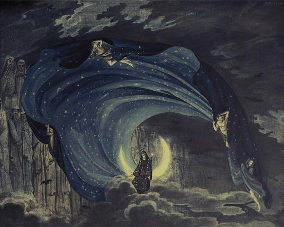 schinkel-königin nacht