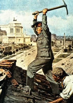 MussoliniViaImpero