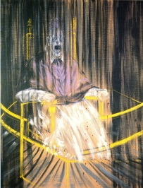 Estudio de Inocencio X (Francis Bacon, 1953). Fuente: arte.laguia2000.com