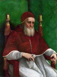 Julio II (Rafael Sanzio, 1511-12). Fuente: Wikimedia Commons